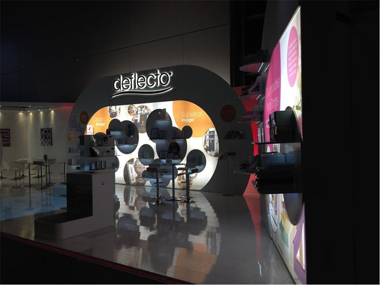 Exhibition Stand Portfolio : Deflecto stand design online exhibition portfolio applemed