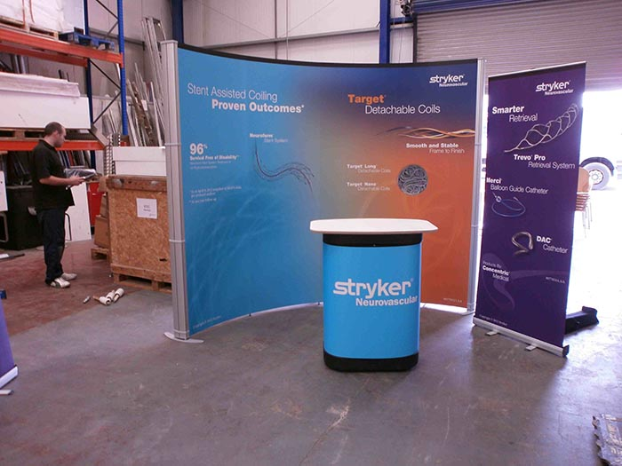 Portable Exhibition Stands In : Portable exhibition stands portable display systems applemed