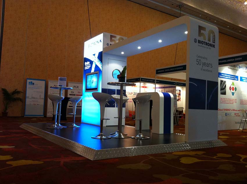 pharmaceutical exhibition display