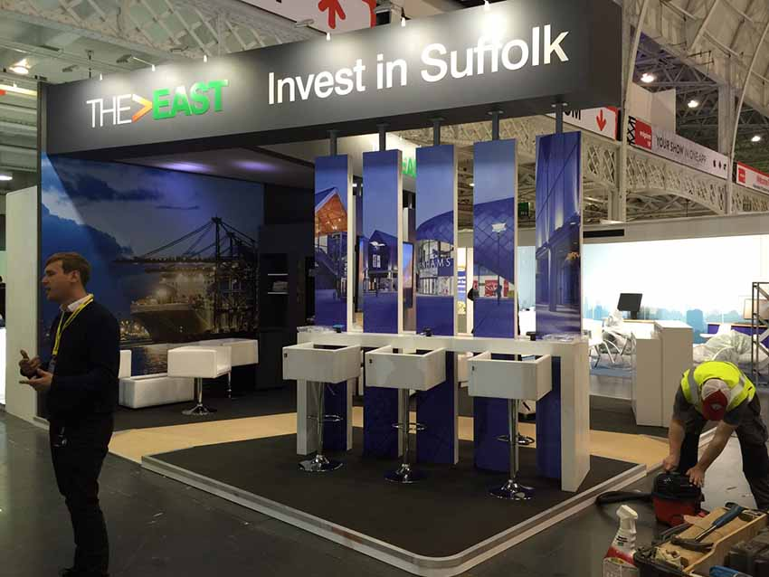 invest in suffolk exhibition stand