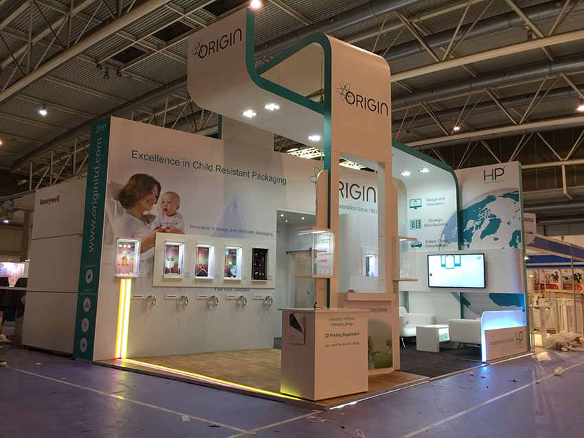 Exhibition Stand Packages : Exhibition stand design and build for origin