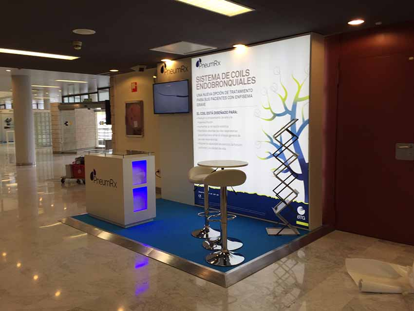 biotechnology exhibition stand