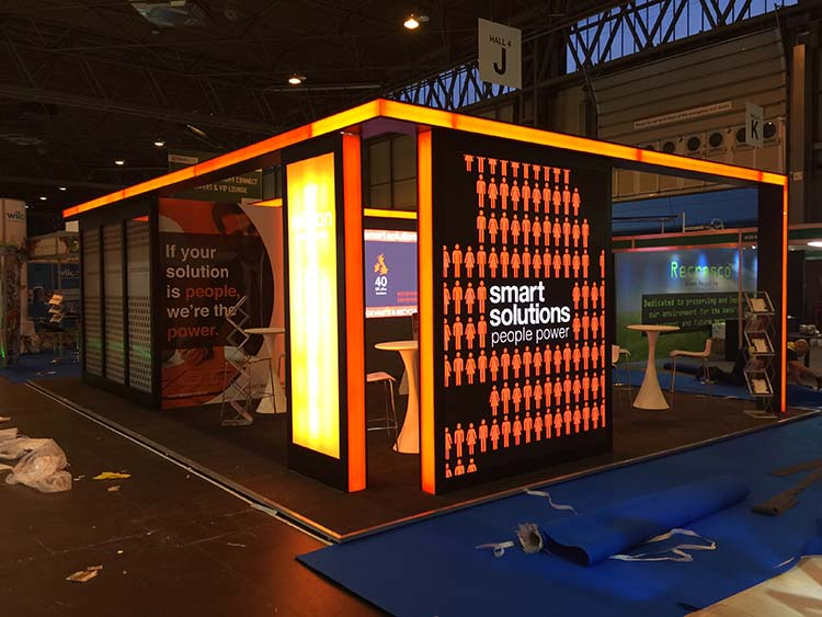 Exhibition Stand Attractors : Seven successful ways to attract visitors your